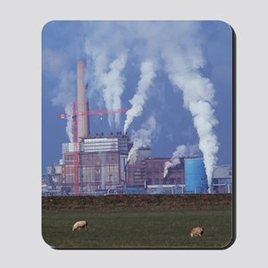 Atmospheric pollution Mousepad