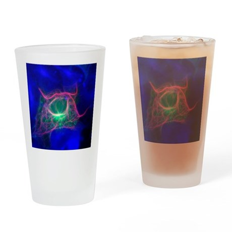 Cell structure, fluorescent microgr Drinking Glass