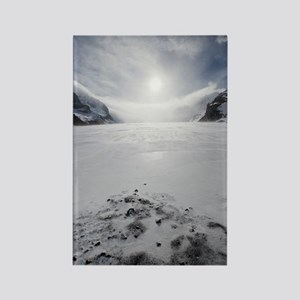 Athabasca Glacier, Canada Rectangle Magnet