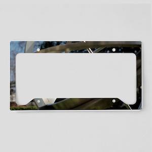 Armillary sundial License Plate Holder