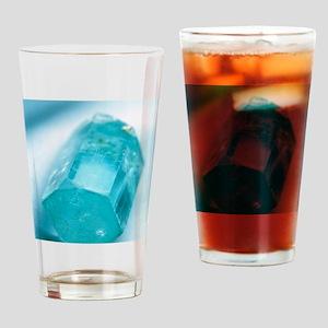 Aquamarine crystal Drinking Glass