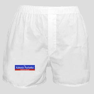 Ulica Kubusia Puchatka, Warsaw (PL) Boxer Shorts