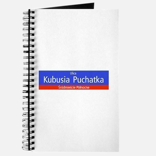 Ulica Kubusia Puchatka, Warsaw (PL) Journal