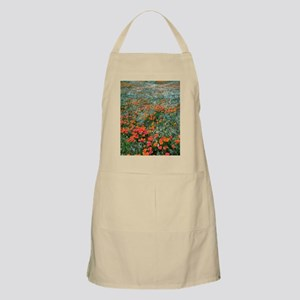 Californian Poppies (Eschscholzia) Apron
