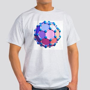 Buckminsterfullerene molecule Light T-Shirt