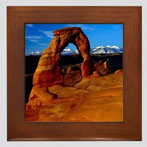 Arches National Park, Utah Framed Tile