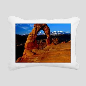Arches National Park, Ut Rectangular Canvas Pillow
