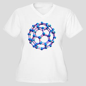 Buckminsterfuller Women's Plus Size V-Neck T-Shirt