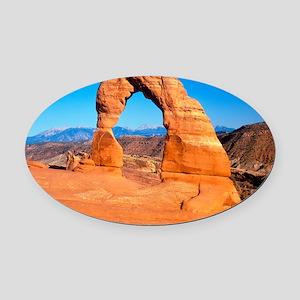 Arches National Park, Utah Oval Car Magnet