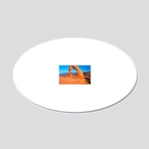 Arches National Park, Utah 20x12 Oval Wall Decal