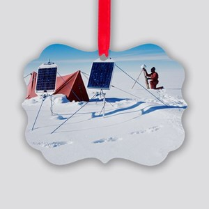 Antarctic research Picture Ornament