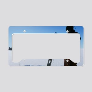 Antarctic research License Plate Holder