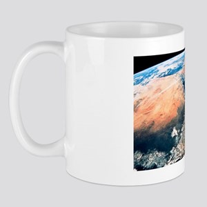 Arabia and Africa seen from space, Apol Mug