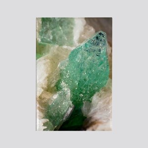 Apophyllite crystals Rectangle Magnet