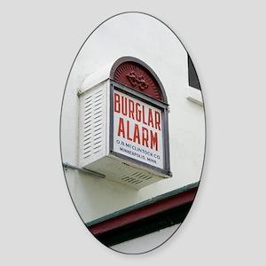 Burglar alarm in Cocoa, Florida Sticker (Oval)