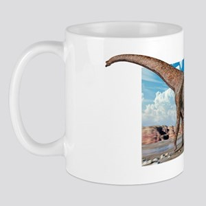 Brachiosaur dinosaur Mug