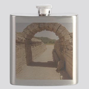 Ancient Olympia stadium entrance Flask