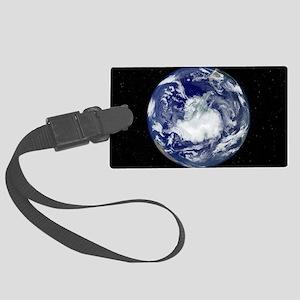 Antarctica, satellite image Large Luggage Tag