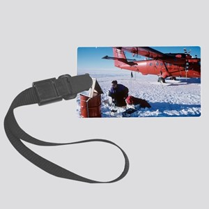 Antarctic research Large Luggage Tag