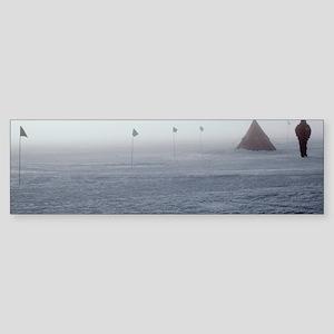 Antarctic field camp Sticker (Bumper)