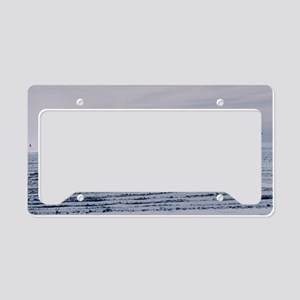 Antarctic airfield License Plate Holder