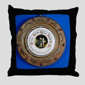 Aneroid barometer Throw Pillow