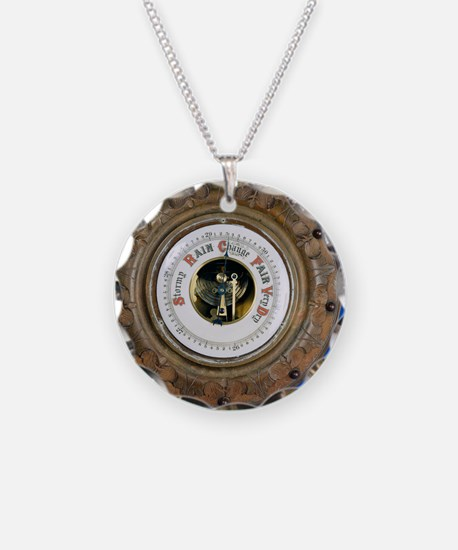 Aneroid barometer Necklace