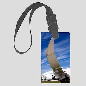 Boeing 787 Dreamliner at Farnbor Large Luggage Tag
