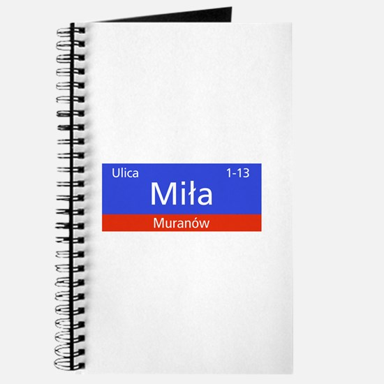 Ulica Mila, Warsaw (PL) Journal