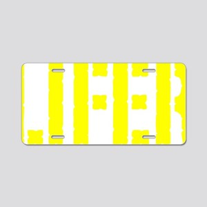 Lifer Aluminum License Plate