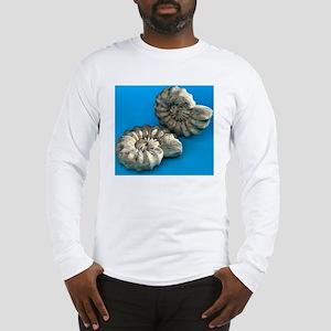 Ammonite fossils Long Sleeve T-Shirt