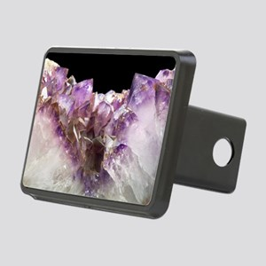 Amethyst crystals Rectangular Hitch Cover