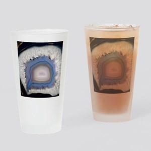 Agate, artificially coloured Drinking Glass