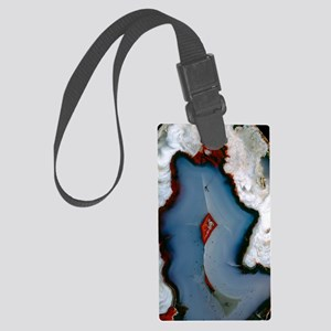 Agate surface Large Luggage Tag