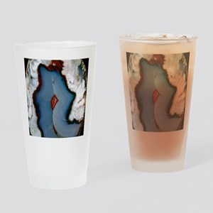 Agate surface Drinking Glass