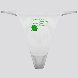 Four-leaf clover Classic Thong