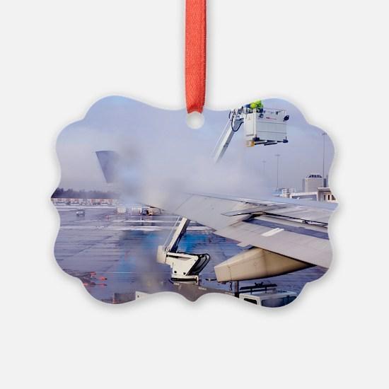 Aircraft deicing Ornament