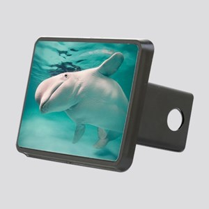 Beluga whale, Delphinapter Rectangular Hitch Cover
