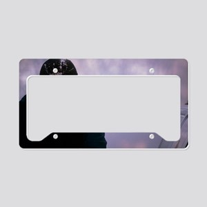 Air pollution License Plate Holder
