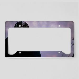 Air pollution License Plate Holder
