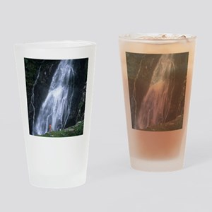 Aber Falls, Wales Drinking Glass