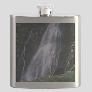 Aber Falls, Wales Flask