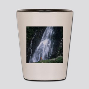 Aber Falls, Wales Shot Glass