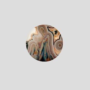 Agate slice Mini Button