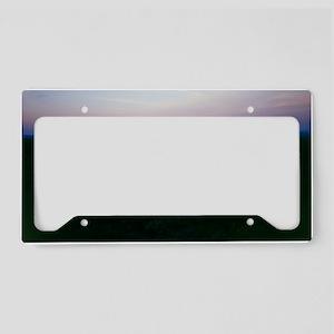 African waterhole License Plate Holder