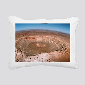 Aerial view of Meteor Cr Rectangular Canvas Pillow