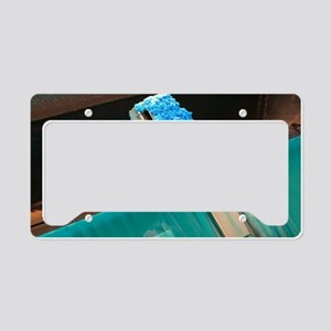 Bacterial copper ore processi License Plate Holder