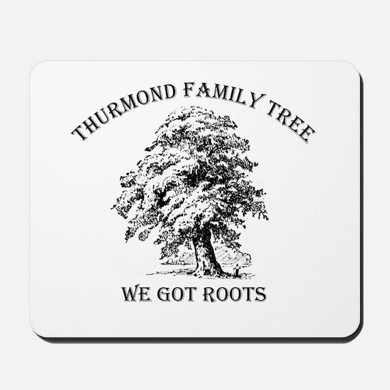 Thurmond Family Tree Mousepad