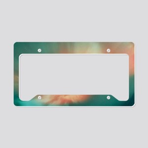 A spectacular aurora borealis License Plate Holder