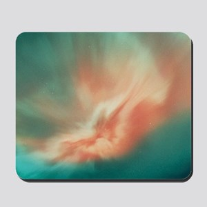 A spectacular aurora borealis display Mousepad